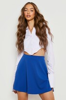 Thumbnail for your product : boohoo Basic Micro Fit And Flare Skater Skirt