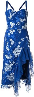 Bronx and Banco Tiffany ruffle dress