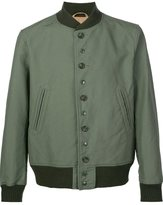 Engineered Garments buttoned bomber jacket