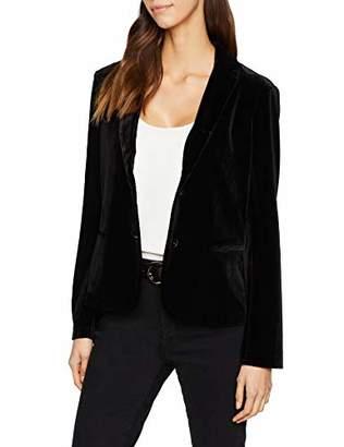 S'Oliver Women's 14.811.54.5690 Suit Jacket, (Black 9999), 20 (Size: )