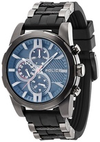 Police Black 'matchcord' Silicone Multifunction Watch 14541jsb/02pa