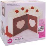 Wilton Tasty-Fill Non-stick Cake Pan Set - Heart