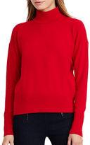 Lauren Ralph Lauren Cotton Turtleneck Sweater