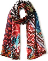Desigual Women's Rectangle Casilda Foulard Scarf