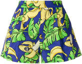Love Moschino tropical print shorts