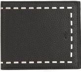 Fendi 'Selleria' billfold wallet - men - Leather/Palladium - One Size