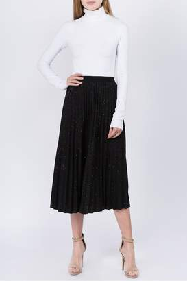Tabac Sparkly-Skies Pleated Skirt