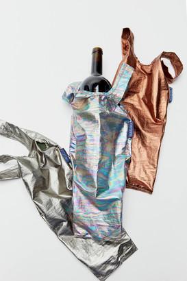 Baggu Metallic Reusable Wine Bag Set