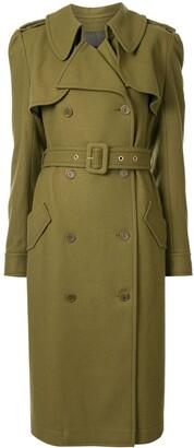 Karen Walker Magmatic buttoned trench coat