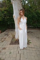 Tysa Capri Dress In Off White