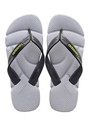 Havaianas Men's Power Toe Separator, Multicolor(Steel Grey/Grey),45/46 EU (43/44 Brazilian)