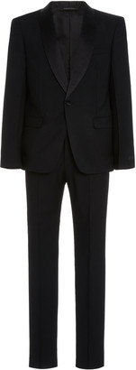 Prada Satin-Trimmed Wool Tuxedo