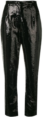 Elie Saab Sequins Embroidered Trousers