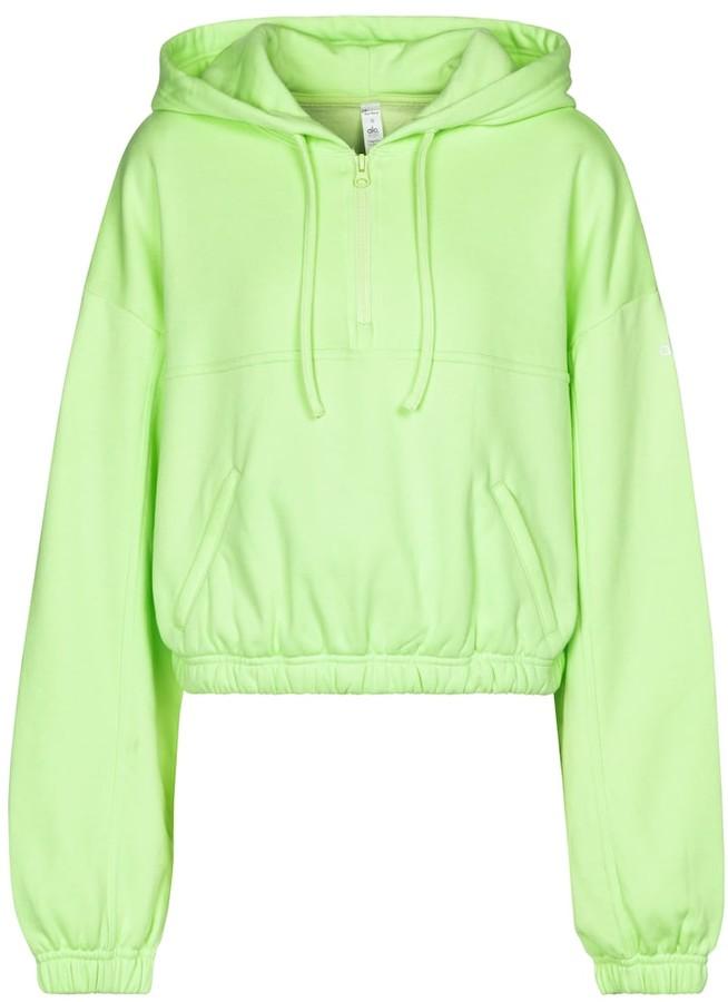 Alo Yoga Stadium cotton-blend hoodie