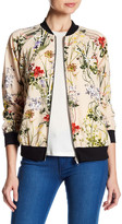 WEST KEI Floral Bomber Jacket