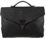 Bottega Veneta Intrecciato Nappa Leather Briefcase