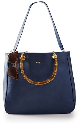 Mark & Graham Bamboo Elisabetta Tote with Strap