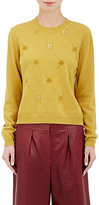 Maison Margiela Women's Tarot Card Jacquard Sweater-YELLOW