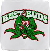 Royal Lion 13 Inch 6-Sided Cube Ottoman Marijuana Best Buds