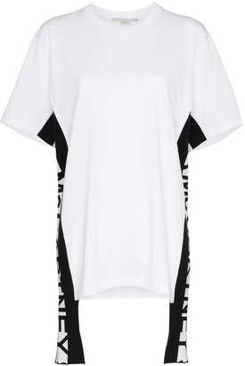 Stella McCartney logo stripe T-shirt