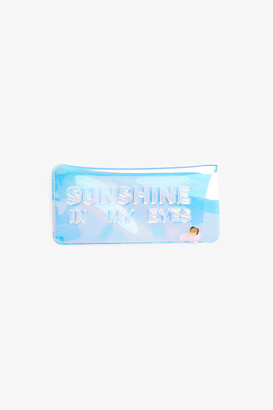 Monki Transparent sunglass case