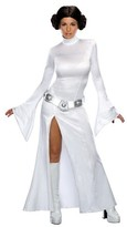 Star Wars Women's Sexy Princess Leia Adult Costume White - L
