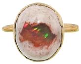 Annette Ferdinandsen Mexican Fire Opal Egg Ring