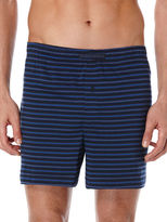 Perry Ellis Dual Stripe Knit Boxer Short