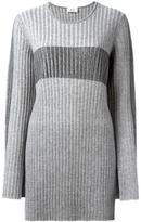 Aviu slit detail ribbed jumper