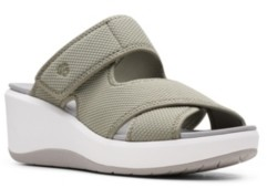 Clarks Cloudsteppers Women's Step Cali Wave Wedge Sandals Women's Shoes