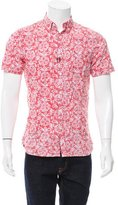 Jack Spade Abstract Print Button-Up Shirt w/ Tags
