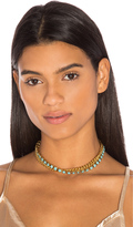 Elizabeth Cole Double Layer Chain Choker