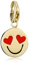"Kate Spade How Charming"" Smitten Emoji Charm"
