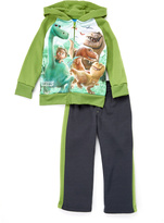 Children's Apparel Network The Good Dinosaur Green & Charcoal Hoodie & Pants - Toddler