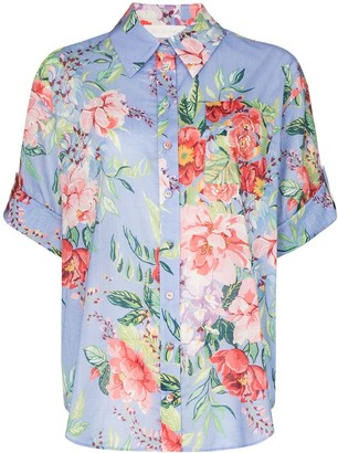 Zimmermann Juliette floral-print cotton shirt