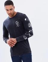 DC Mens Tadow Long Sleeve T Shirt