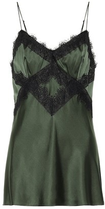 Shimmering Mystery satin camisole