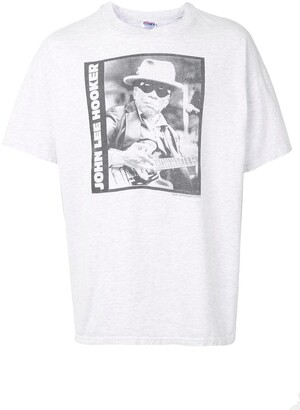 Lee John Hooker print T-shirt