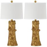 Safavieh Arcadia Faux Bois Table Lamps (Set of 2)