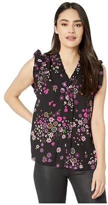 Kate Spade Bora Flora Shell (Black) Women's Clothing