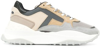 Tod's oversize panelled sneakers