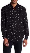 Neuw Bob Printed Trim Fit Dress Shirt