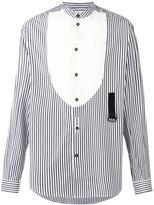 J.W.Anderson striped popeline shirt - men - Cotton - 48