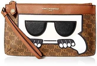 Karl Lagerfeld Paris Peeking LG Wristlet