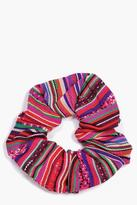 Boohoo Diana Tribal Print Scrunchie