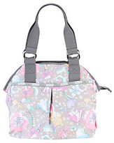 Le Sport Sac As Is Printed Nylon Jetsetter Satchel