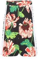 Stella McCartney Zandra printed crêpe shorts