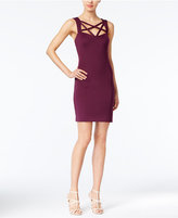 GUESS Cage-Neck Bodycon Dress