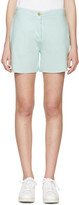 Acne Studios Green Gioia Shorts