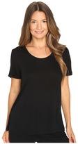 The Kooples T-Shirt Basique Manche Courtes Jersey Women's T Shirt